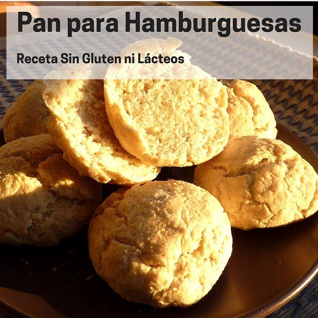 Cómo hacer pan de hamburguesas sin gluten ni lácteos #Receta #SinGluten #SinLácteos #Glutenfree #DairyFree