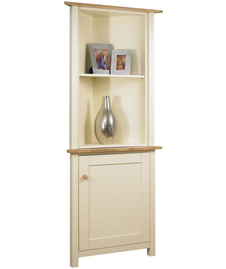 Buy Lancaster Corner Display Cabinet Top Ivory At Argos Co Uk Your Online Shop For Display
