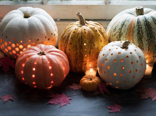 Cómo hacer linternas de calabaza para decorar en Halloween