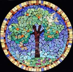 Something Similar To This For My Mosaic. Maybe Do A Section For Each  Season? Mosaic DesignsMosaic IdeasFree ...