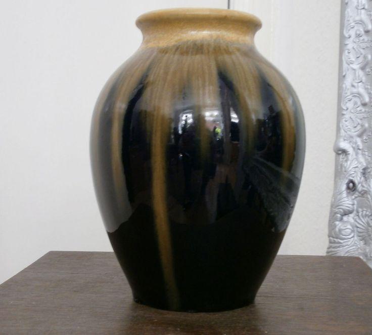 Jugendstil Kunst Keramik Vase Bürgel Vintage Artpottery Kunstkeramik art nouveau