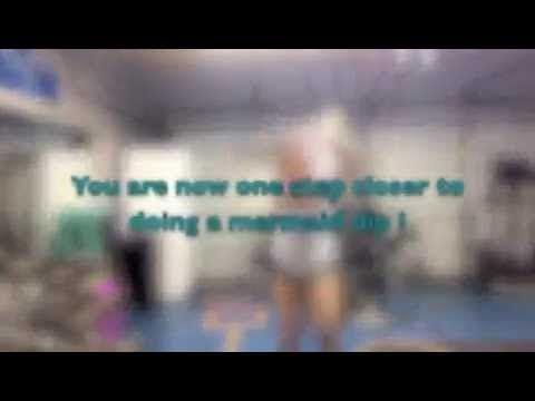 Mermaid Dip (hula hoop tutorial) - YouTube