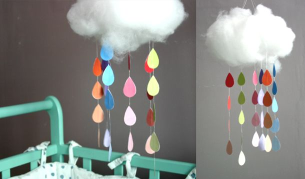 DIY : un mobile nuage