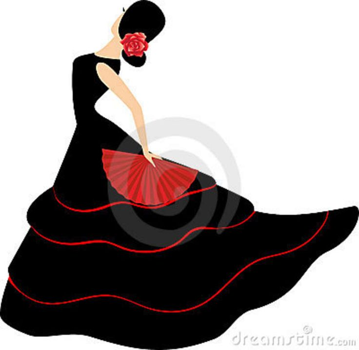 flamenco dancers in spain | Flamenco dancer. Spanish girl with fan dances a flamenco, illustration..This would make a lovely appliqué !