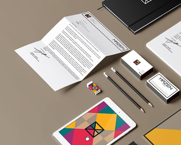 Mazen Consulting by 911 Designers, via Behance