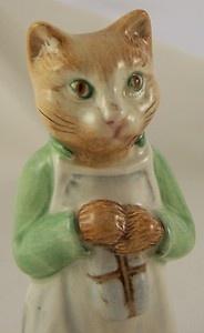 Beatrix Potter Ginger BP3b Beswick short legged cat | eBay