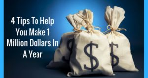 4 Tips To Help You Make 1 Million Dollars In A Year  Do you want to make 1 million dollars from selling your handmade items? I bet you do!  Check out the options to see what could work for you:  http://www.craftmakerpro.com/business-tips/4-tips-help-make-1-million-dollars-year/