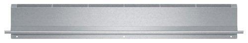 """Bosch - 4"""" Low Back for Bosch HEI8054U Slide-In Electric Ranges - Silver"""