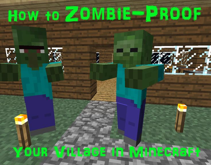 181 best minecraft house images on pinterest minecraft stuff is your minecraft village plagued with zombies learn how to zombie proof your village in this hub discover how to use torches fence gates sciox Images
