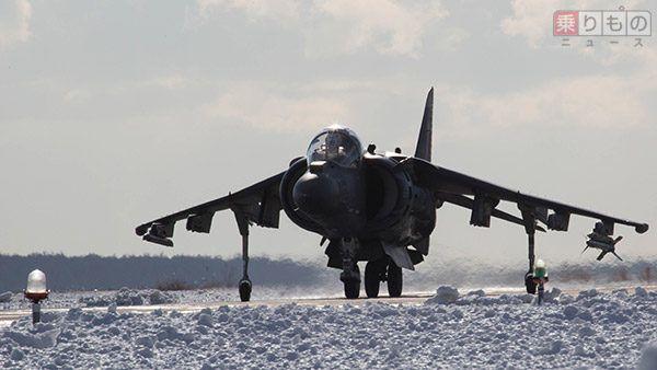 岩国基地に配備されていた垂直離着陸戦闘機AV-8B「ハリアーII」は、F-35Bと入れ替わりに退役する。写真はその同型機(写真出典;アメリカ海兵隊)。