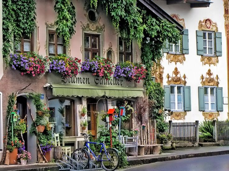 Oberammergau Germany - a wonderful town in the Alps near Munich