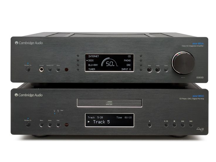 High-End Studios - Cambridge Audio Azur 851C CD-Player & Preamplifier