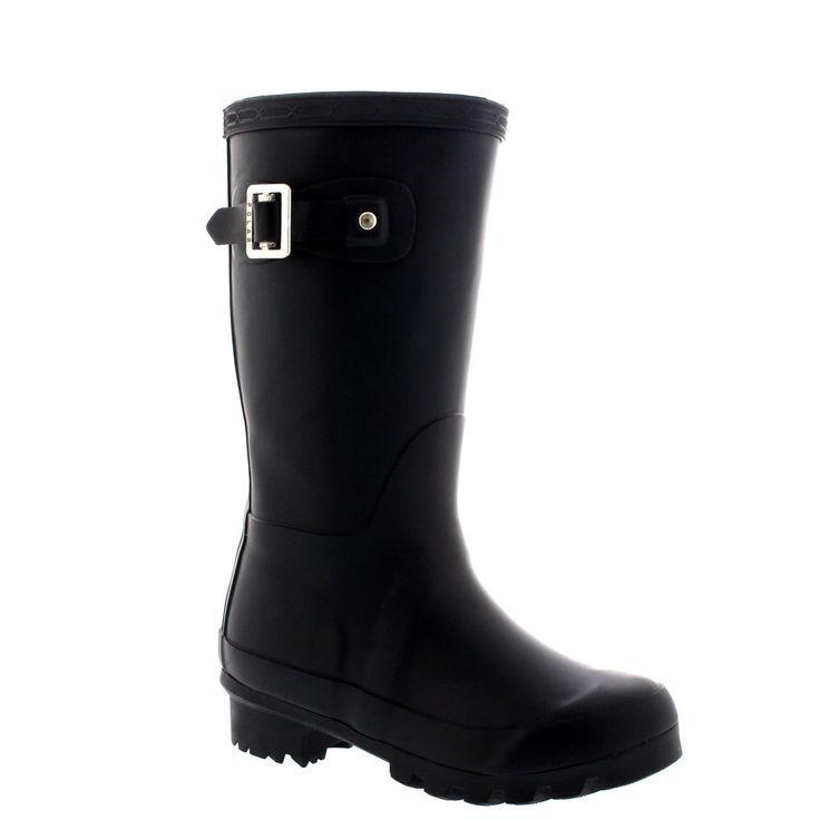 Unisex Kids Original Plain Wellie Rain Snow Winter Waterproof Mud Boots - 3 - BLA35 BL0189. Unisex kids original plain, Matt finish. Calendered sole unit. Vulcanized natural rubber upper. Waterproof construction, Quickdry textile lining. Available in a palette of fashionable shades.