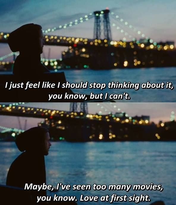 Movie Quotes About Love At First Sight : ... favourite film love love love her face this was the cutest movie 2 2