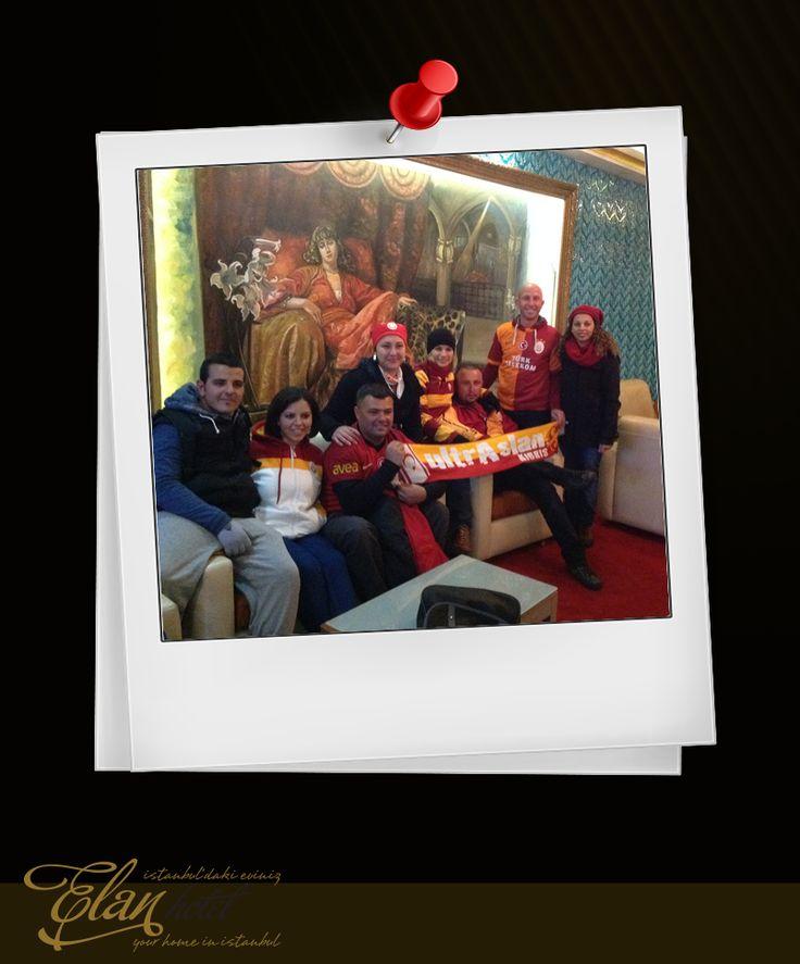 İşte Kıbrıs UltraAslan grubumuz :) #elanhotelistanbul #elanhotel #istanbul #gs
