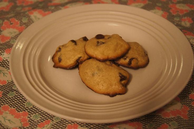 Weight Watchers-Friendly Malted Milk Chocolate Chip Cookies