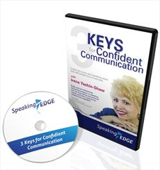 3 Keys for Confident Communication If you want to ride the fast track to excellence in oral communication and enjoy the success that it brings, then you need this CD. First learn the basics of how to prepare yourself before speaking in any context.  $50.00 + GST To order, please click: http://www.innovationedge.com.au/shop/audio-cds/3-keys-for-confident-communication
