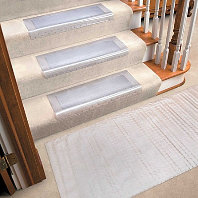Attractive Clear Vinyl Carpet Runners U0026 Stair Treads