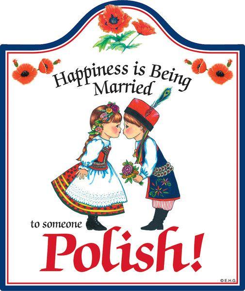 Ceramic Cheeseboard: Married Polish – Great Polish Gift Idea.