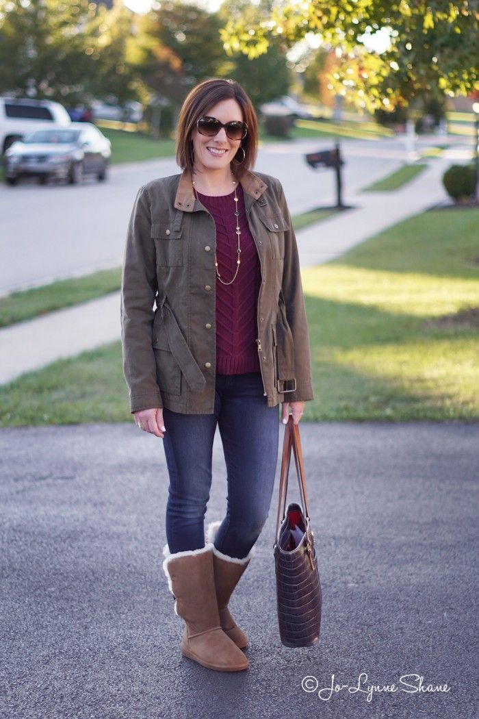 Daily Mom Style: Casual Fall Outfit for Women Over 40