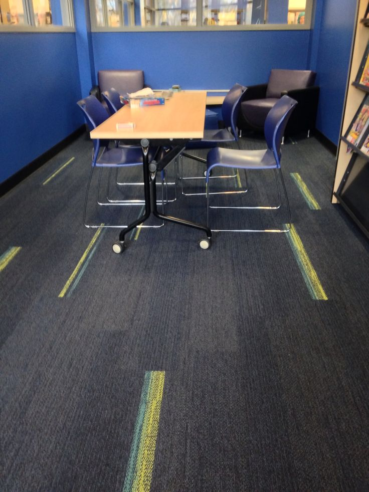Interface carpet tile - Groundwaves and Harmonize - office design