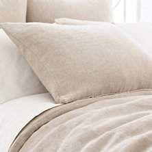 pineconehill.annieselke.com Bedding Linen-Chenille-Natural-Duvet-Cover p LCNDC