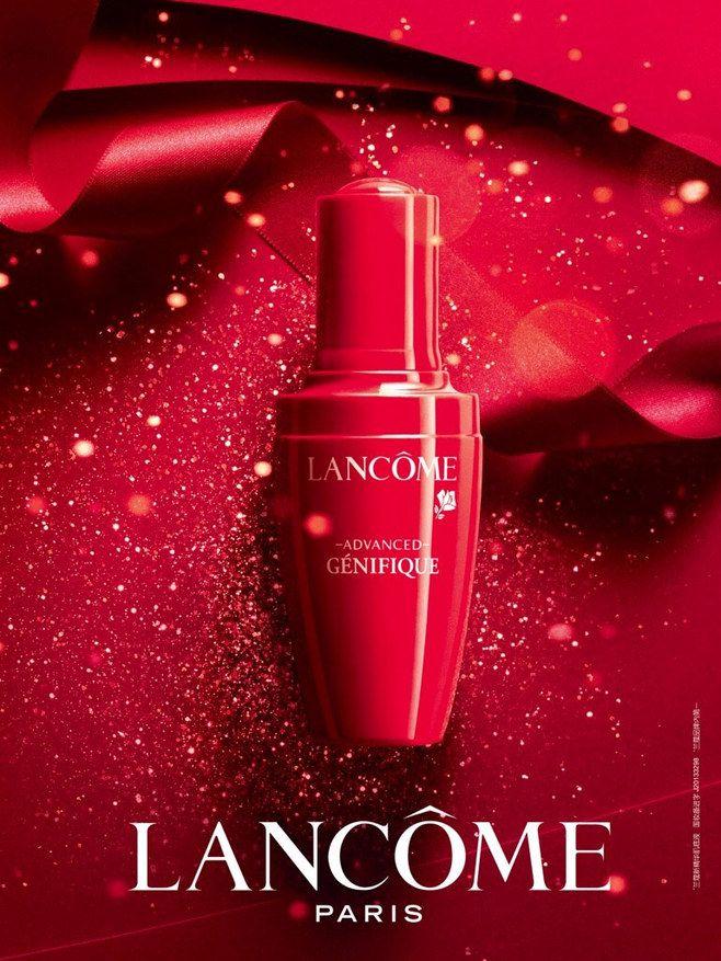 兰蔻化妆品海报设计,来源自黄蜂网http...
