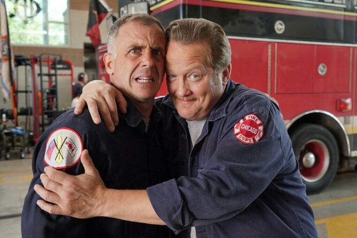 Herrmann & Mouch♥️♥️♥️ Chicago Fire