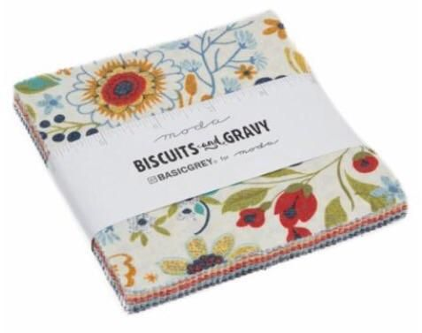 PREORDER Biscuits & Gravy Moda Charm Pack  #newstuff #ruler #spreadthelove #quilting