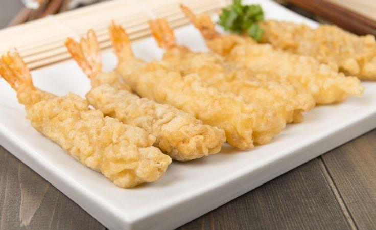 recette de tempura de crevettes