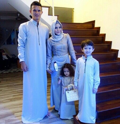 Beautiful Muslim Family