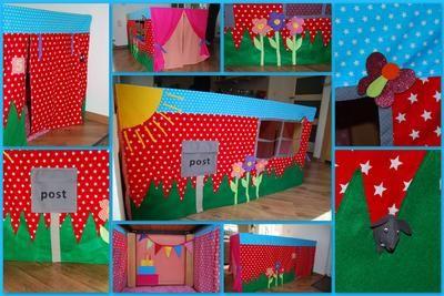 Bekijk de foto van JannekeReekers met als titel Leuke tafeltent voor de kinderen! en andere inspirerende plaatjes op Welke.nl.