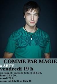 Accueil - Luc Langevin, magicien