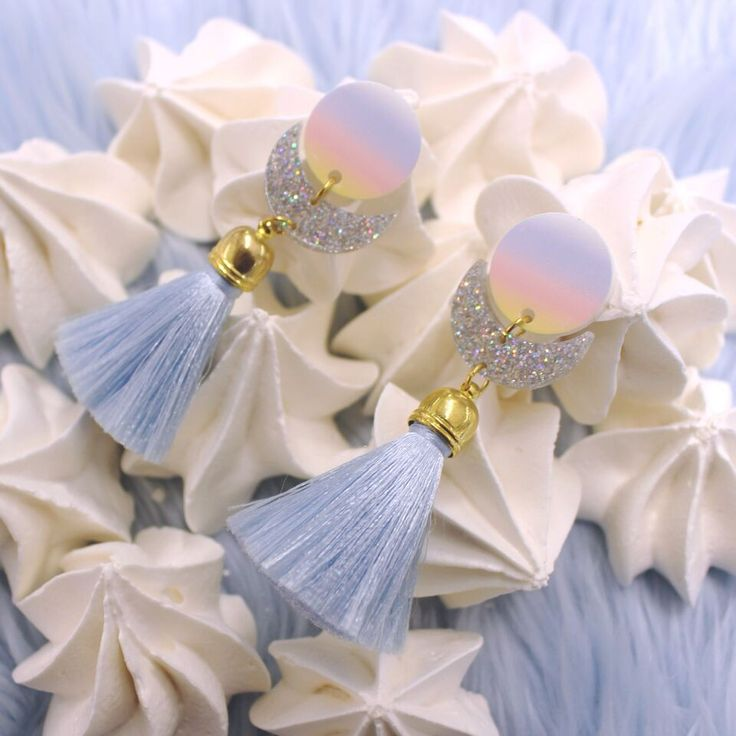 Tassel earrings… pair with a bodycon and flatforms, or boyfriend jeans and a crop top.