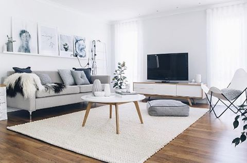 ✨#RoomRoyalty👑 Heaven can wait.. We simply adore @oh.eight.oh.nine's stunning living room featuring our Hendrix tv unit & Jolanda coffee table. ✨Ultimate living goals 😍😍