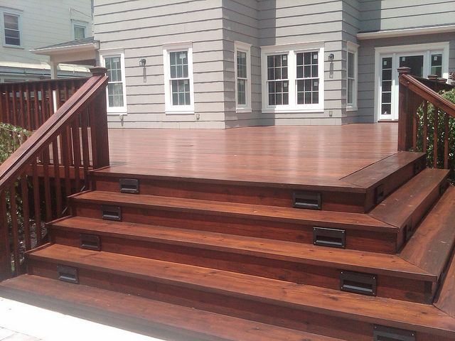 deck stain maplewood nj by olgerfallaspainting via flickr stain