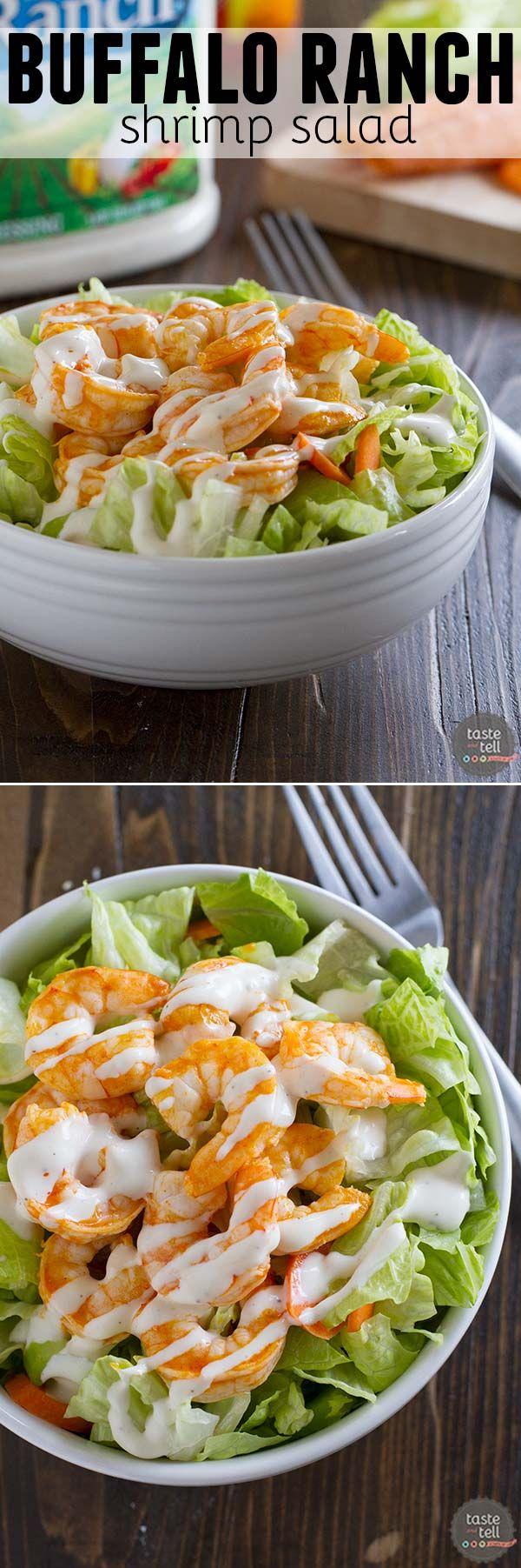 buffalo ranch shrimp salad - Ina Garten Shrimp Salad Recipe