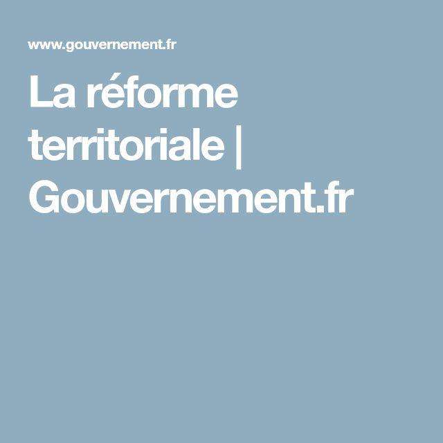 La réforme territoriale | Gouvernement.fr