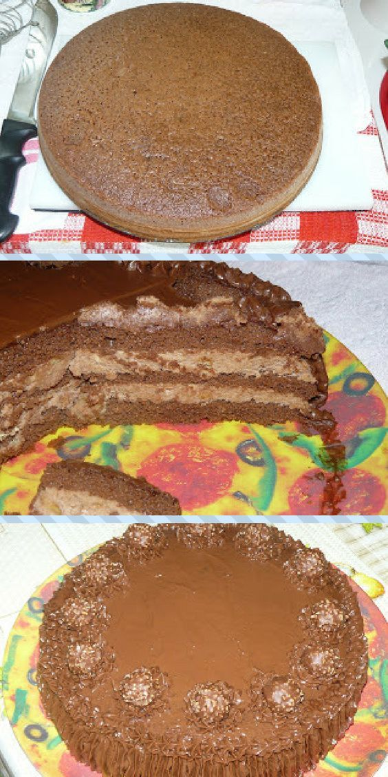 How to make delicious Ferrero Rocher Birthday Cake
