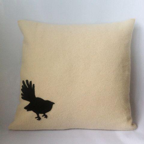 Handmade Upcycled Blanket Kiwiana Cushion Cover