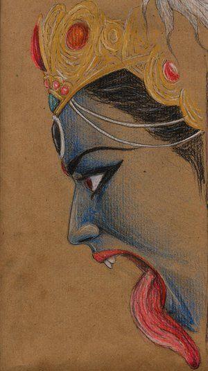 Kali(color pencil at it's finest!)