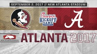 High Tide: Game Time Set For Bama-FSU Football