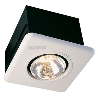 Superior Infrared Bathroom Heat Lamp Only