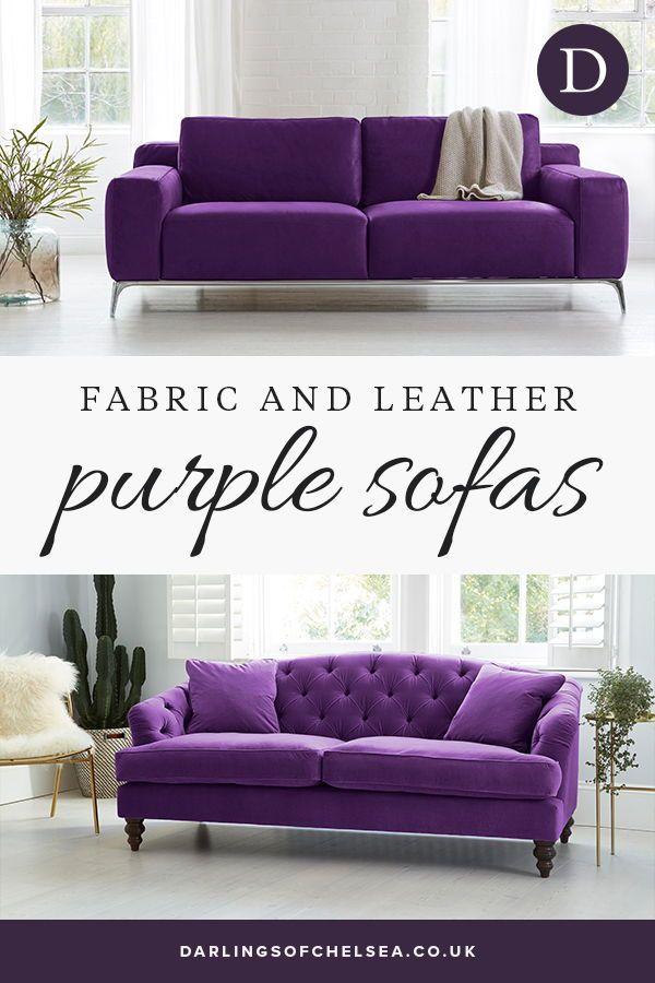 Luxury Purple Sofas Ideas Darlings Of Chelsea Purple Sofa