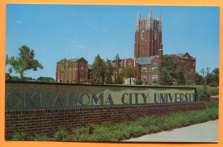 Oklahoma City, OK, View of Oklahoma City University, circa 1960s