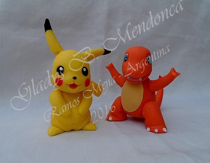 Pikachu -porcelana fria