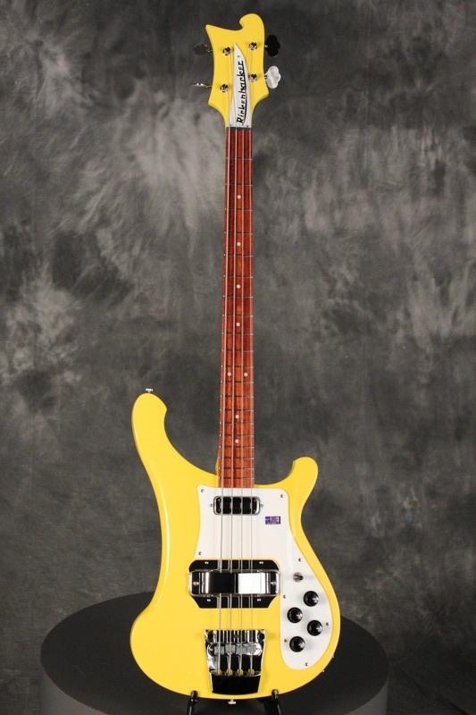 "2011 Rickenbacker 4001 C64 Bass TVY ""TV Yellow"""