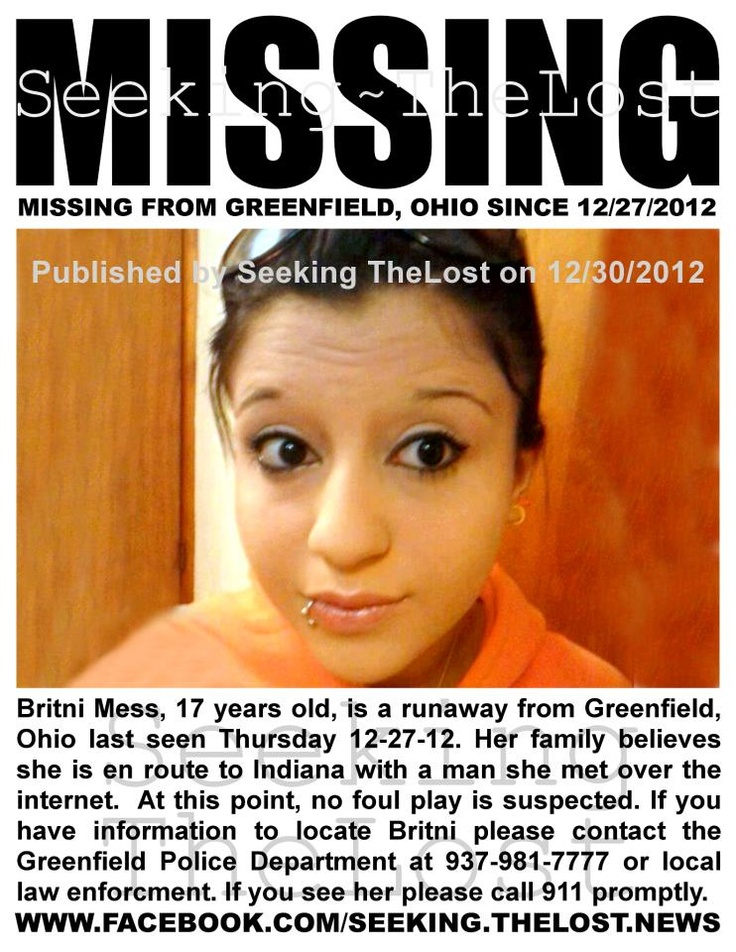 37 best MISSING PERSON images on Pinterest Missing persons - missing person posters