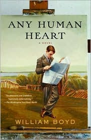 Any Human Heart, William Boyd. Perhaps my favorite book ever.