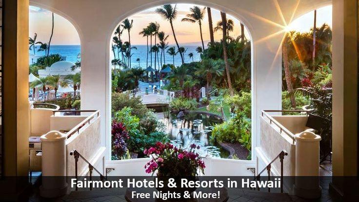 Fairmont Hotels & Resorts in Hawaii - https://traveloni.com/vacation-deals/fairmont-hotels-resorts-hawaii/ #hawaiivacation #maui #luxuryvacation